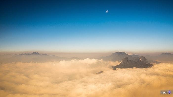 Biển mây trên đỉnh Lảo Thẩn