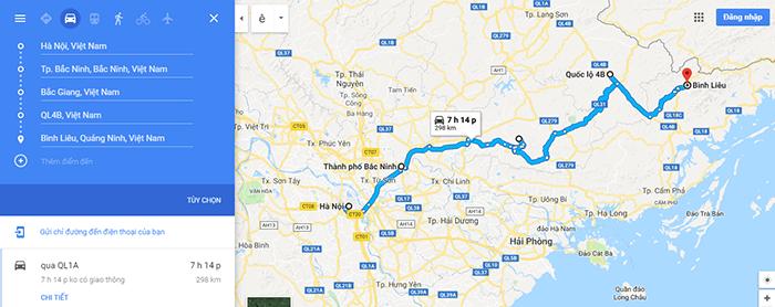 Cung đường Hà Nội - Bình Liêu - Cung đường 2