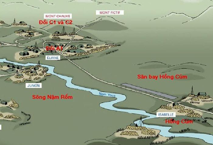 Cứ điểm Hồng Cúm Điện Biên Phủ
