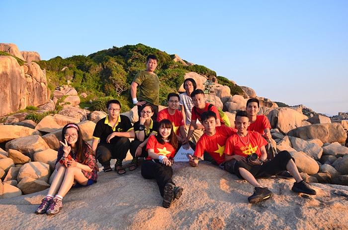 Điểm cực Đông Mũi Đôi ở Khánh Hòa