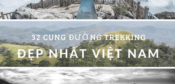 Những cung đường trekking đẹp nhất Việt Nam