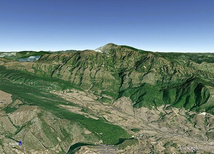 Đỉnh Lảo Thẩn trên Google Map