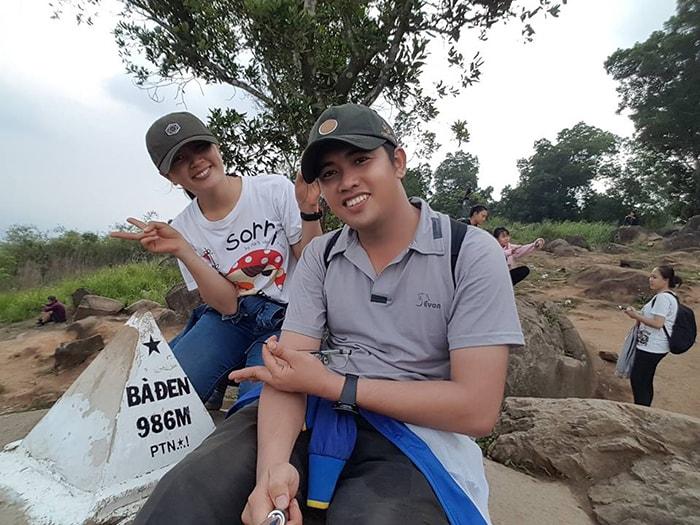Đỉnh núi Bà Đen - Tây Ninh