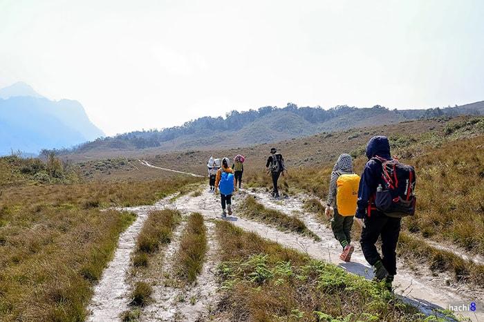 Đường trekking Lảo Thẩn