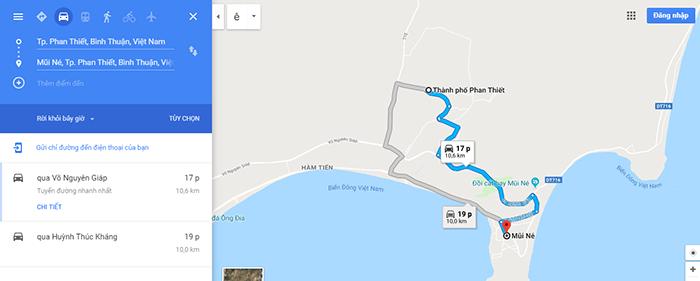 Cung Phan Thiết - Mũi Né