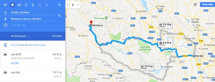 Cung đường Hà Nội – Mù Cang Chải - Mường La