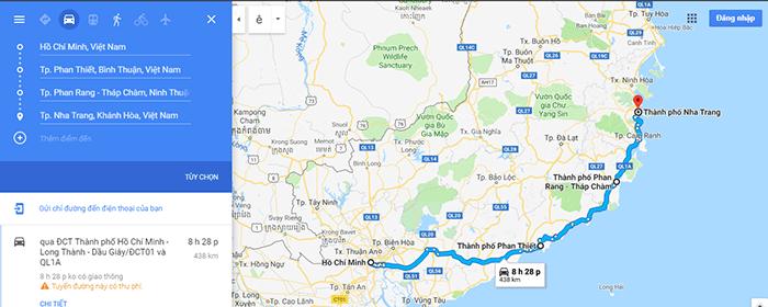 Cung đường Biển: Sài Gòn - Phan Thiết - Ninh Thuận - Nha Trang