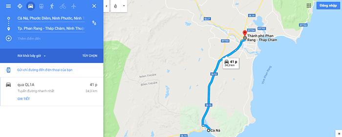 Đường ven biển Cà Ná – Phan Rang