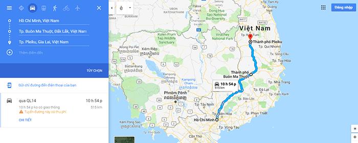 Cung đường Sài Gòn - Pleiku