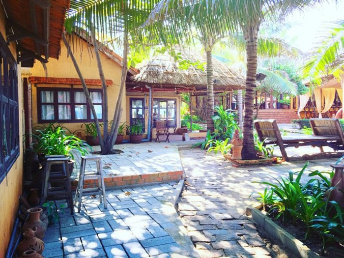 Khu resort ở Bàu Trắng