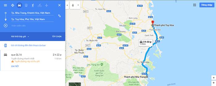 Cung đường Nha Trang - Tuy Hòa