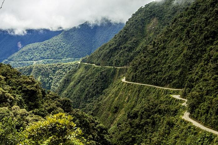 Đường Bắc Yungas, Bolivia - Con đường nguy hiểm nhất thế giới