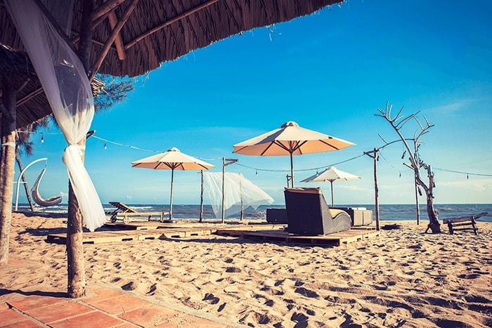 Resort ở bãi biển Cam Bình, LaGi