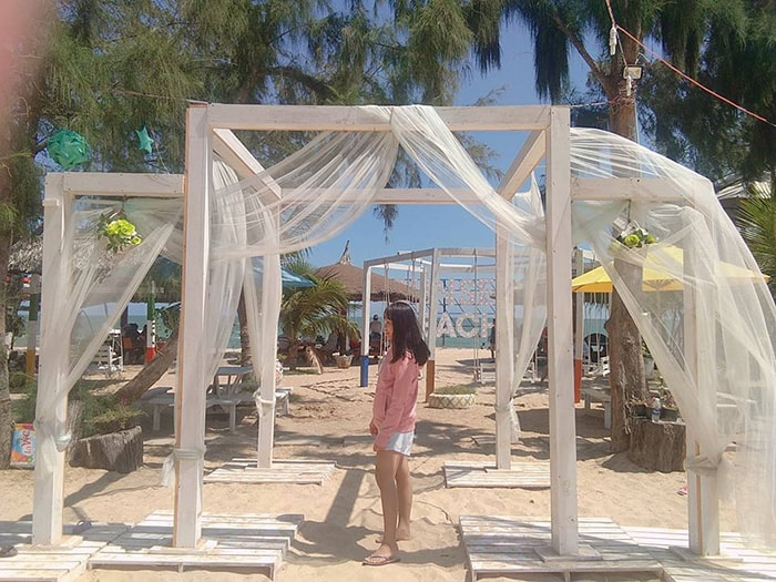 LaGi Coco beach có rất nhiều địa điểm sống ảo