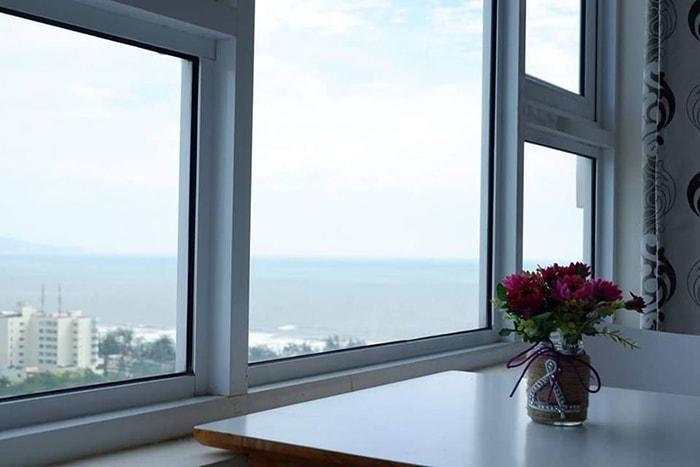 View nhìn ra ngoài từ Bụi homestay