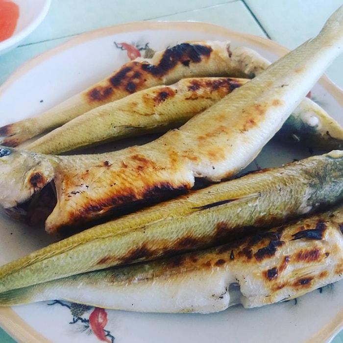 Đĩa cá đục nướng thơm ngon đặc sản của LaGi