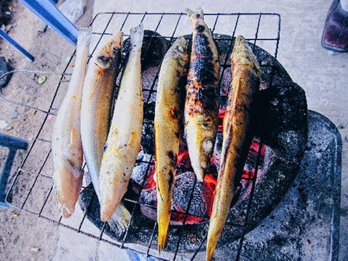 Cá đục là món ăn đặc sản nổi tiếng ở LaGi