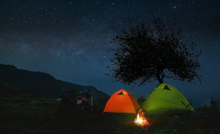 Cắm trại ngắm sao ban đềm trên đỉnh Tà Xùa