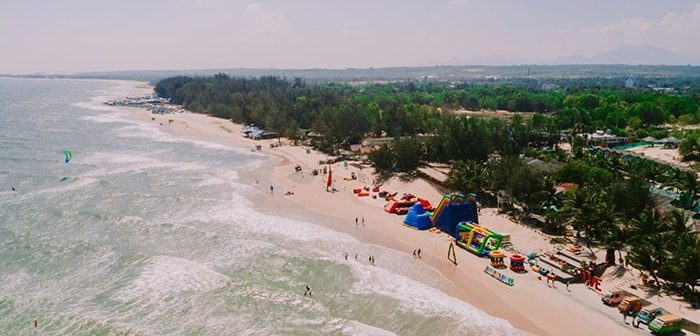 Kinh nghiệm đi du lịch coco beach camp