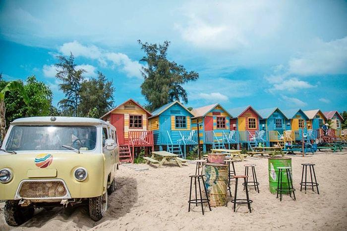 Góc nào cũng có thể sống ảo ở Coco Beachcamp LaGi