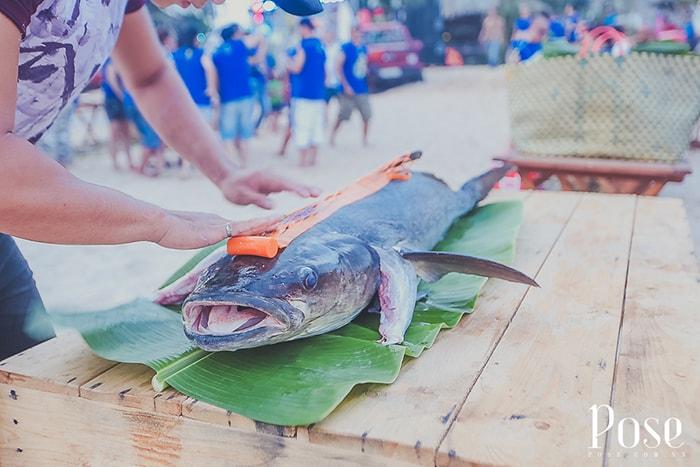 Hải sản ở Coco beach