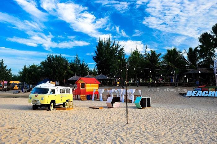 Coco beach Camp không thiếu địa điểm để sống ảo
