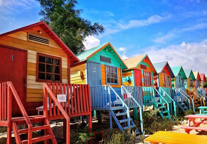Phòng ở kiểu Beach Hut ở Coco beach camp