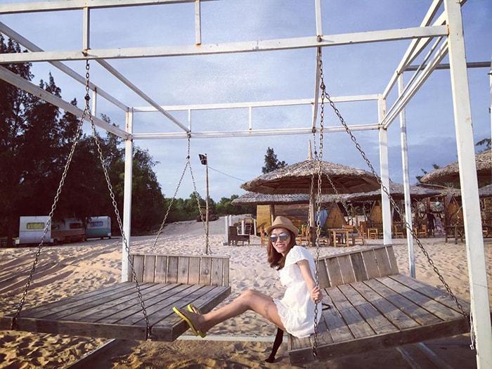 Một góc để sống ảo ở Coco Beachcamp LaGi