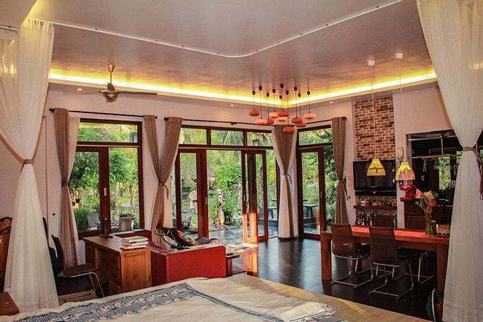 Không gian Coco homestay tuyệt đẹp