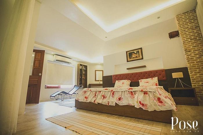 Phòng ngủ bên trong Coco homestay LaGi