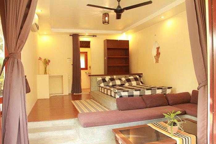 Không gian phòng ngủ ở Coco homestay LaGi