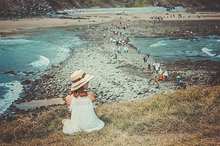 Đảo Hòn Bà là địa điểm khá gần LaGi