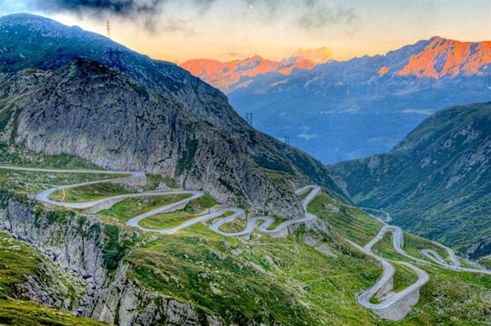 Đèo Gotthard, Thụy Sĩ (Gotthard Pass, Switzerland)