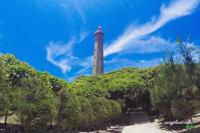 Đường lên ngọn Hải đăng Kê Gà