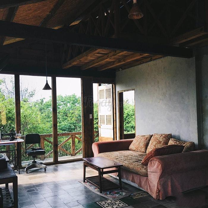 Không gian phòng nghỉ ở Lara homestay ở LaGi