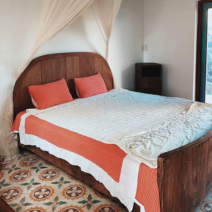Phòng ngủ ở Lara Homestay LaGi Bình Thuận