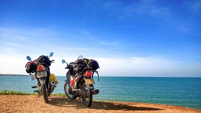 Phượt LaGi Bình Thuận bằng xe máy