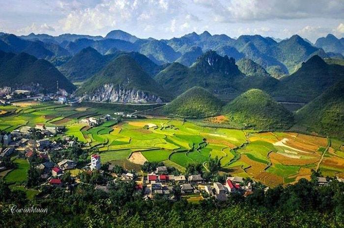 Núi đôi Quản Bạ, Hà Giang