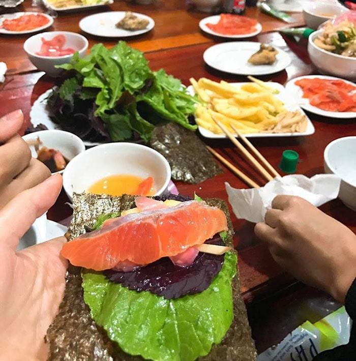 Đặc sản cá hồi Mộc Châu
