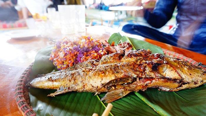 Cá suối nướng đặc sản Mộc Châu