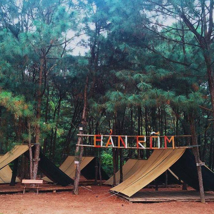 Khu cắm trại bản Rõm, Sóc Sơn, Hà Nội