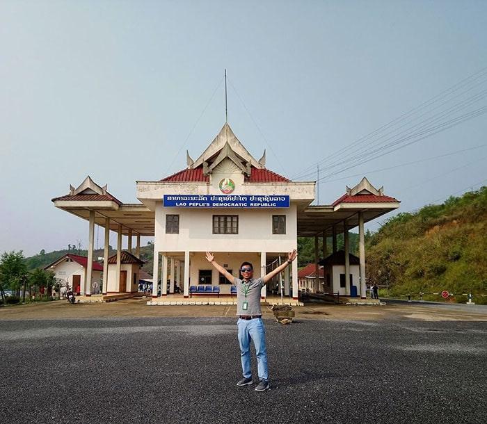 Cửa khẩu Lóng Sập ở biên giới Việt Lào