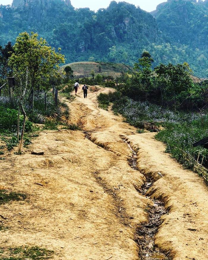 Đường lên đỉnh Pha Luông, Mộc Châu