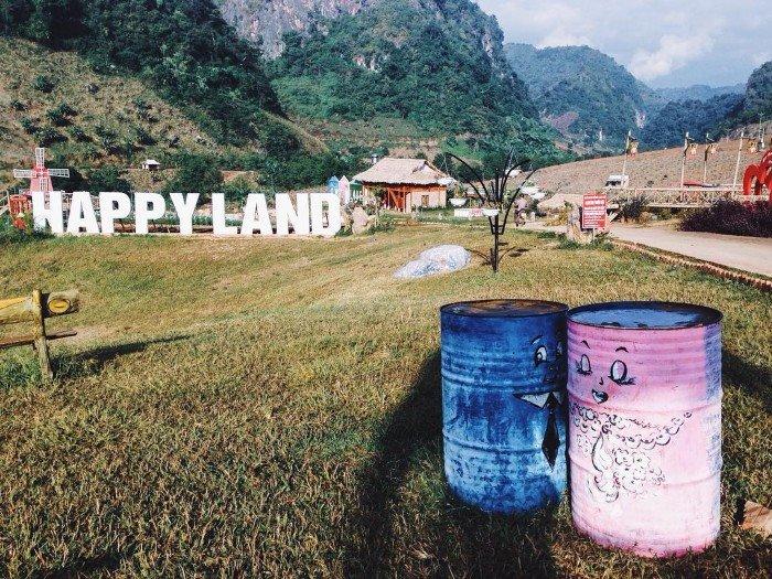 Khu du lịch Happy Land, Mộc Châu