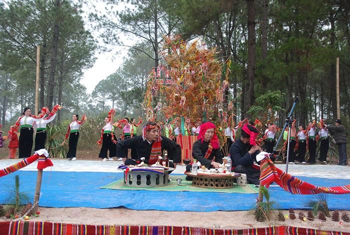 Lễ hội Hết Chá, Mộc Châu