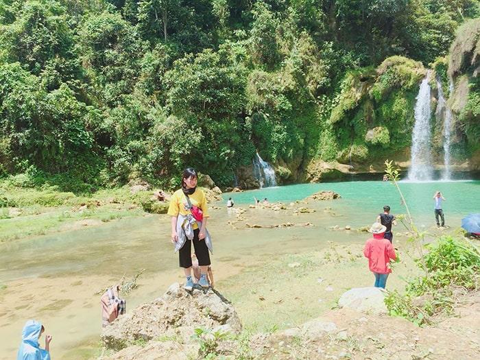 Vẻ đẹp của thác Chiềng Khoa Mộc Châu