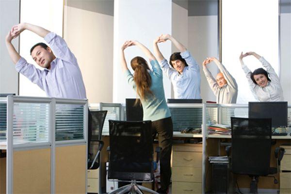 Một số bài tập vận động nhẹ nhàng dành cho dân văn phòng