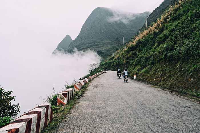 Cung đường đèo ở Hà Giang