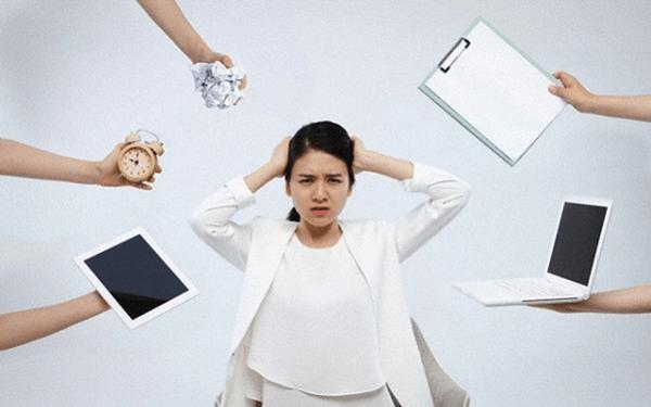 Áp lực và stress trong công việc là nỗi ám ảnh của mỗi người làm văn phòng