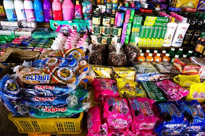 Bánh kẹo của Lào